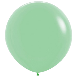 Sempertex Rundballon Mint Grün 90 cm
