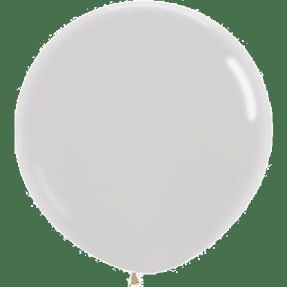 Sempertex Rundballon 90 cm Pearl Weiss