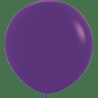 Sempertex Rundballon 90 cm Violet