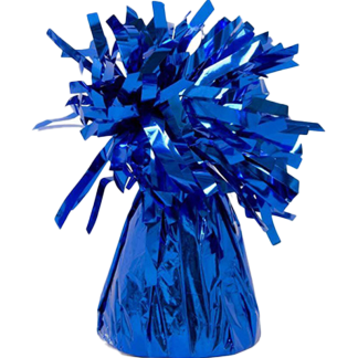 Heliumballons Ballongewicht Folie Blau