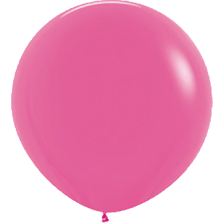 Sempertex Europe Rundballon Fuchsia 36 Inch