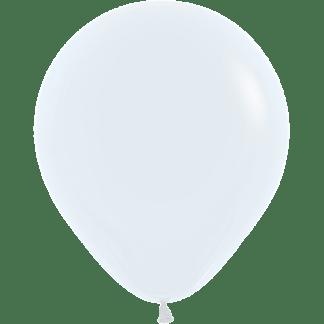 Sempertex Europe Ballons White 18 Inch