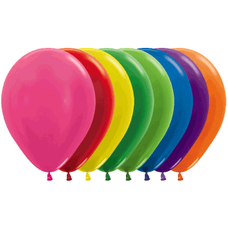 Sempertex Ballons Metallic Sortiment