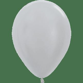 Sempertex Ballons Pearl Metallic Silver
