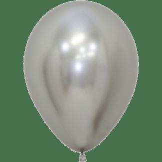 Sempertex Ballons 12.5 cm Reflex Silber