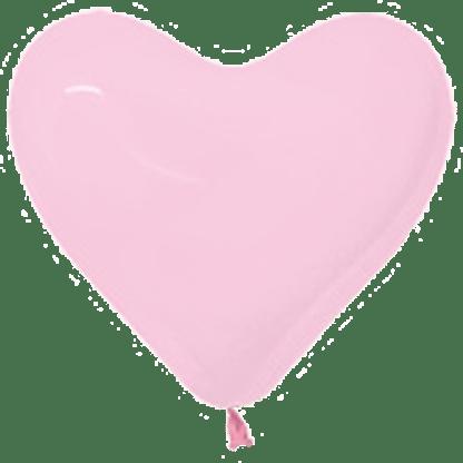 Sempertex Herzballons 30 cm Rosa