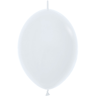 Sempertex Link O Loon 30 cm Weiss