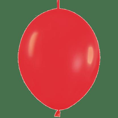 Sempertex Link O Loon 30 cm Rot