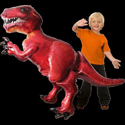 Dinosaurier Tyrannosaurus Rex Folienballon Airwalker