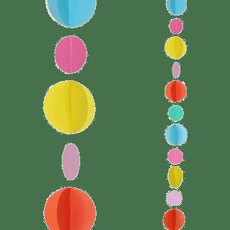Ballon Band bunten Punkten