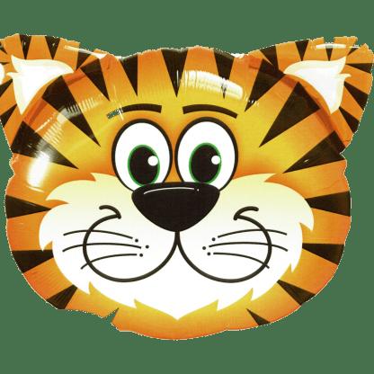 Folienballon Tiger Tiegerkopf Qualatex Folienballon Ballon