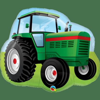 Folienballon Traktor Bauernhof Fahrzeuge