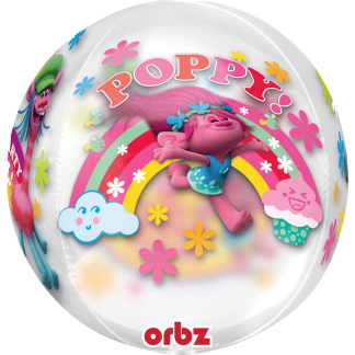 Trolls World Tour Popy Heliumballon Ballon