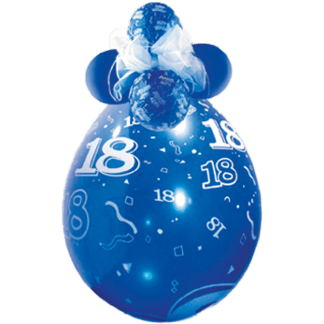 Qualatex Verpackungsballon 18 Geburtstag
