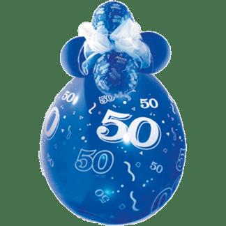 Qualatex Verpackungsballon 50 Geburtstag