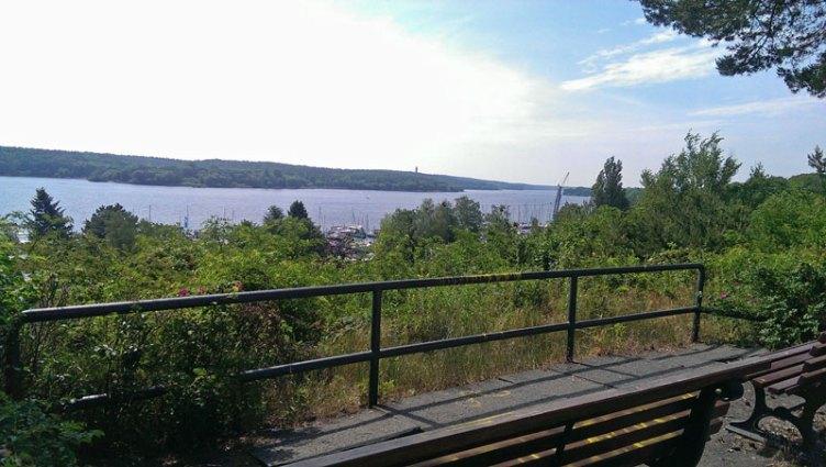 Blick von der Haveldüne (hinten sieht man den Grunewaldturm)