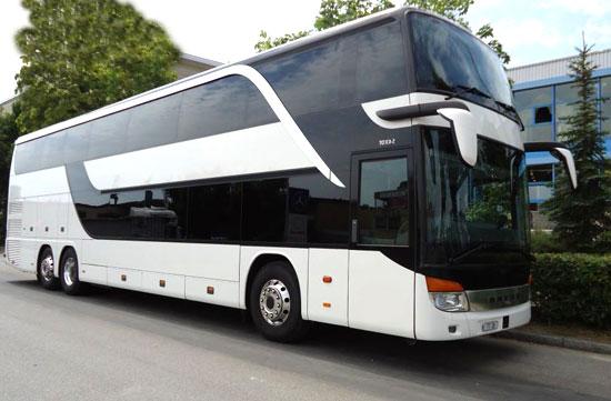 80 Personen Sitzplätze Bus