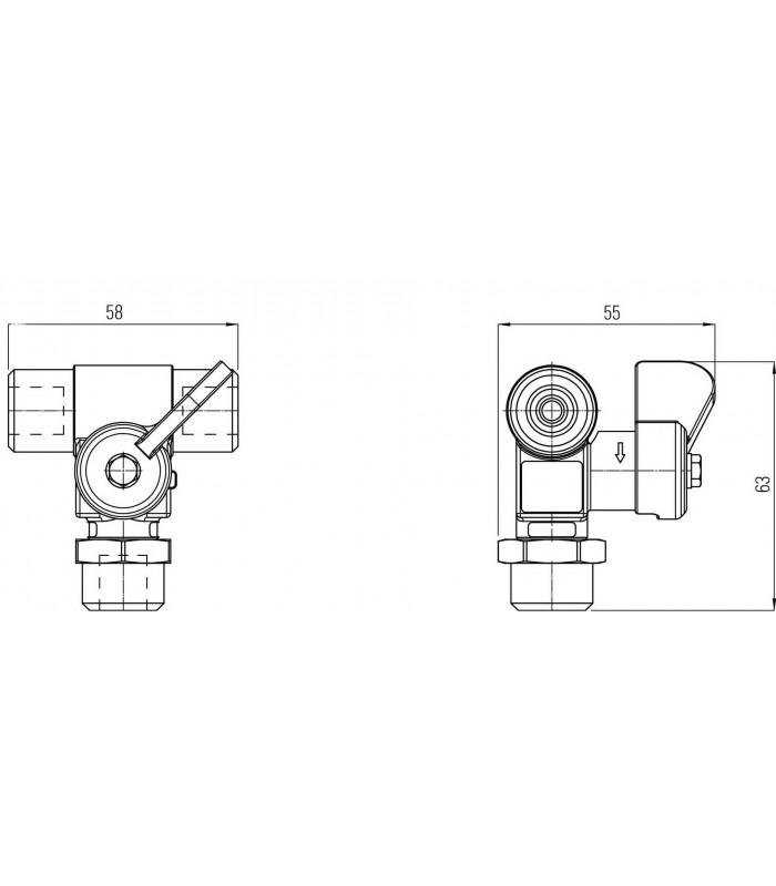 Filling valve 'VALC6'