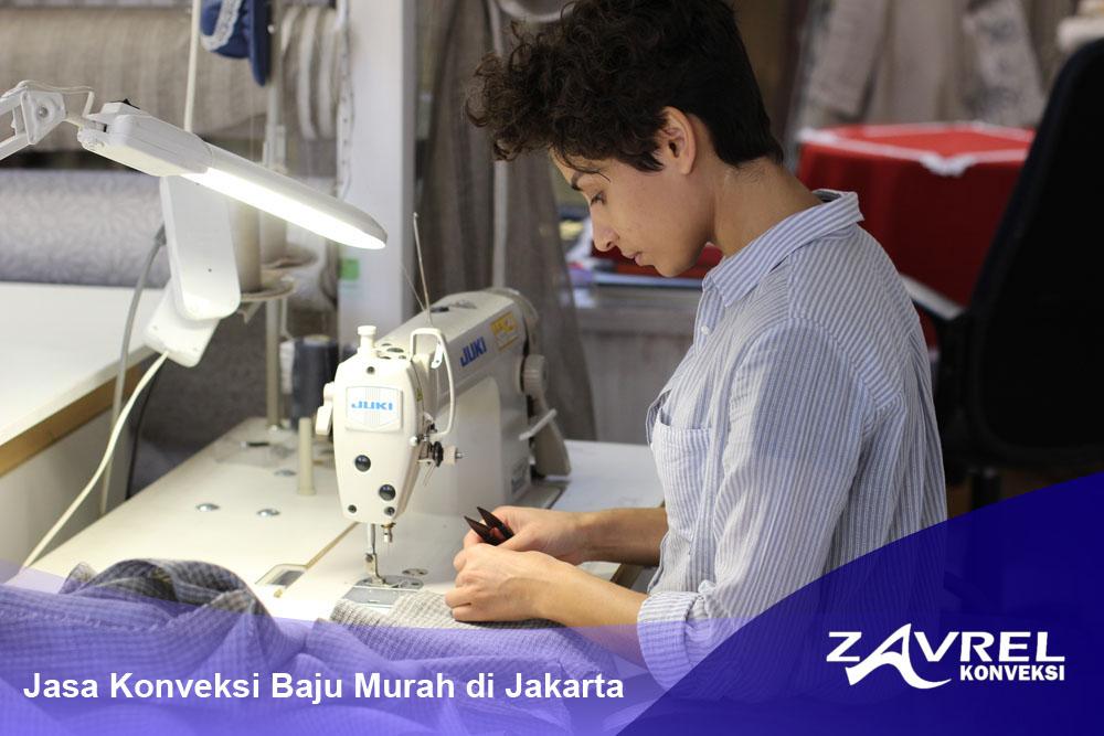 Jasa Konveksi Baju Murah di Jakarta
