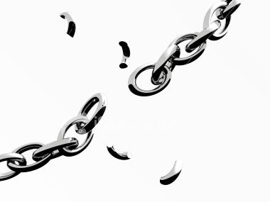 broken chain, broken engagement, broken relationship