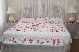 wedding night bed