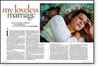 no love, marriage without sex or intimacy