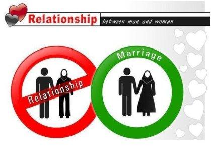Pre-marital/extra-marital relationships are haram in Islam