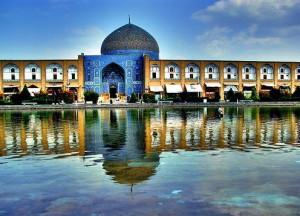A masjid in Isfahan, Iran