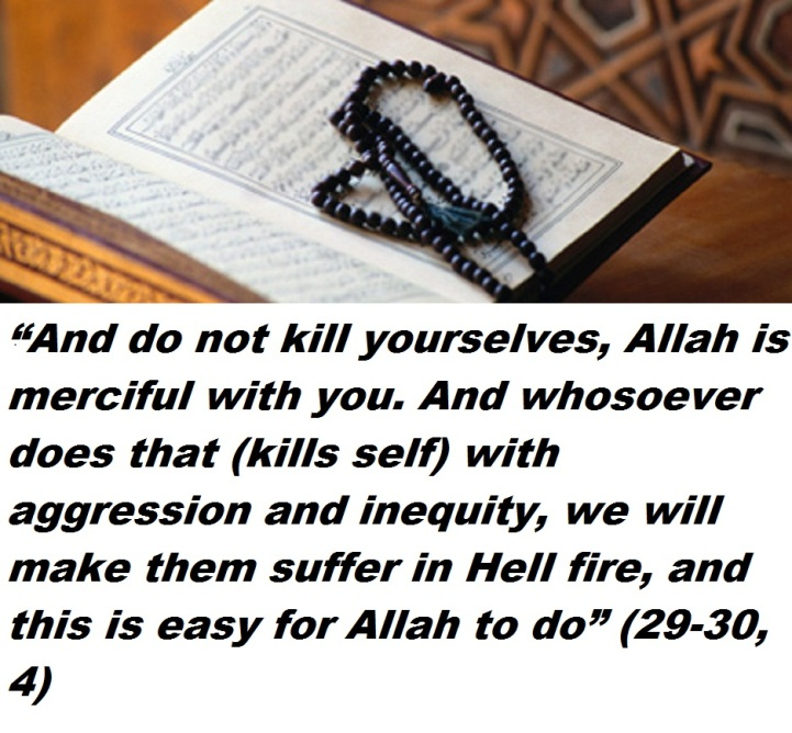 Hadith on Suicide
