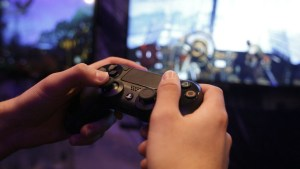 Playing Playstation