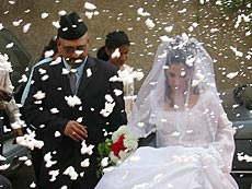 Sunni-Shiah marriage.