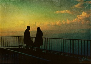 Lebanese Muslim couple