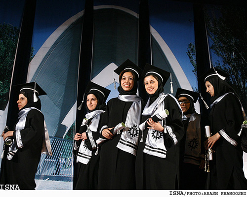 Muslim women university graduates in Iran