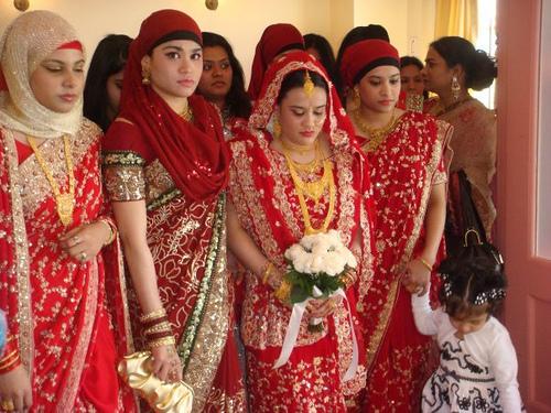 Bengali Muslim bride