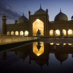 Badshahi mosque in Pakistan