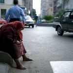 Poor Cairo woman
