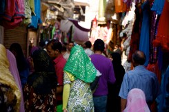 Colorful Cairo women