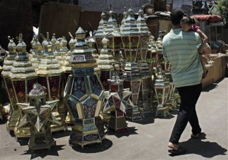 Traditional Egyptian Ramadan lanterns