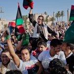 In Tripoli, Libyans celebrate the first Eid al-Fitr since the fall of the Gaddafi regime.