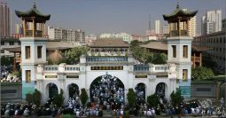A masjid in Xining, capital of Qinghai province.