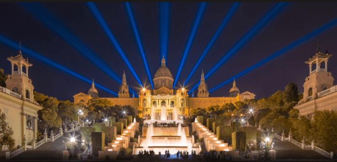 Fontanny Montjuic Barcelona