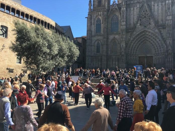 Barcelona, niedziela 8 marca