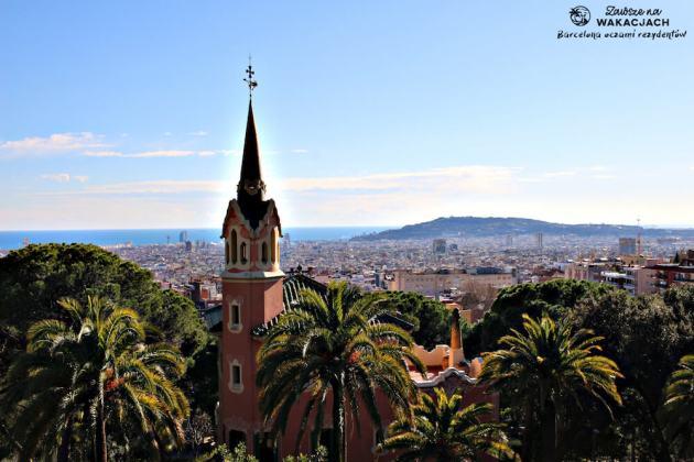 Park Guell Przewodnik po Barcelonie