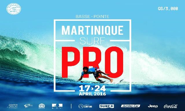Martinique Surf Pro 2016 aura lieu à Basse Pointe