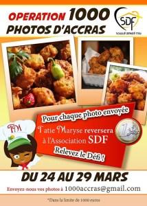 #ZayActu : Tatie Maryse reversera à l'Association SDF 1€ pour une photo d'accras envoyée | ZayRadio.org