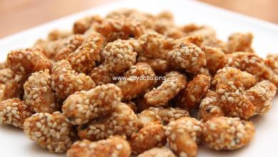Photo of Quick Snack Recipe – Cashew Nut With Sesame Seed