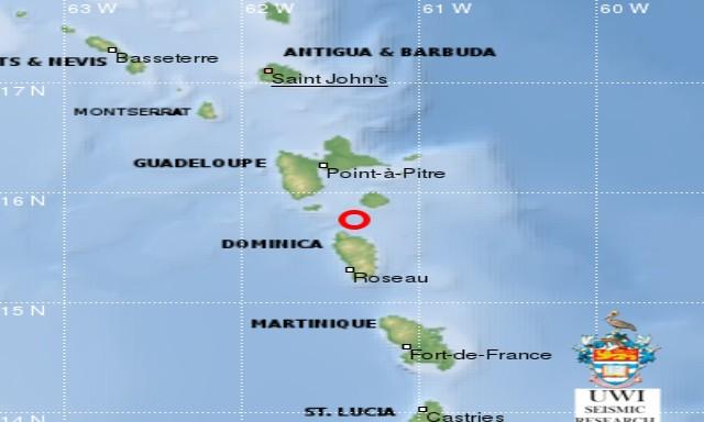#ZayActu : Un séisme de magnitude 4.1 ressenti en Guadeloupe et à la Dominique | ZayRadio.org