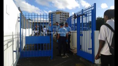 Photo of Opération de sécurisation menée aux abords de la cité scolaire du Marin, 5 paires de ciseaux récupérées