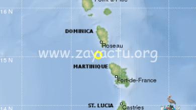 Photo of Un léger séisme de magnitude 3,9 ressenti en Martinique