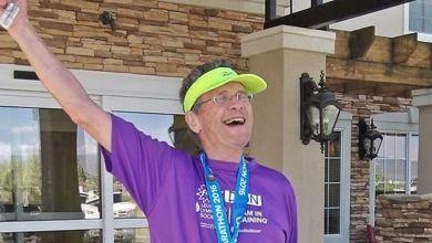 Photo of On lui annonce qu'il lui reste 5 ans à vivre. 13 ans après à 75 ans il termine son 100 ème marathon